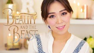 美女與野獸艾瑪華森版『貝兒』仿妝 Beauty and the Beast Emma Watson's Belle Transformation | The Real Rosie