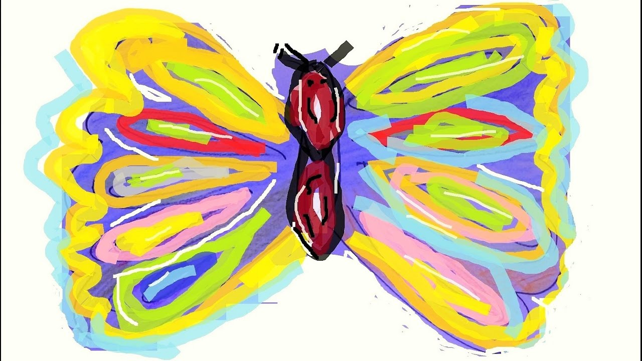 Uncategorized Easy Draw Butterfly how to draw cartoon butterfly easy drawing for kids youtube kids