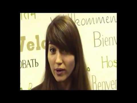 Yana from Ukraine loves learning English in Ireland