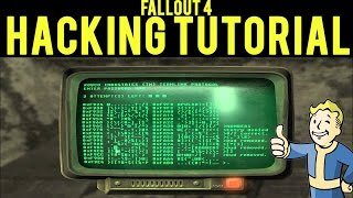 Fallout 4 How to Hack Terminals