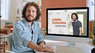 Luisito comunica | Así creó su propia Página Web con Wix.com thumbnail