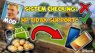 Download MOD APK Fortnite on Android with Checking system on off