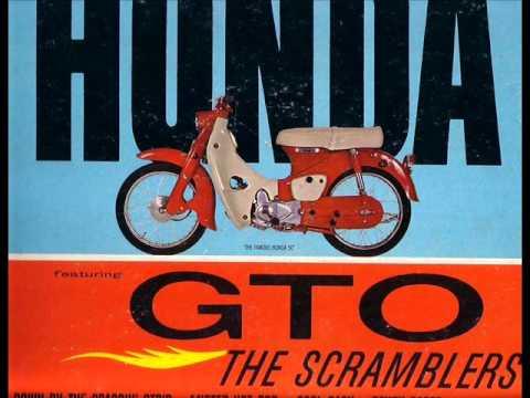 the scramblers   little  honda