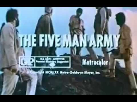 the five man army trailer