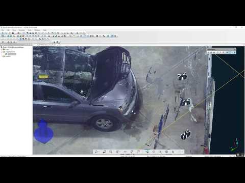 FARO SCENE Proper Scan Distances for Vehicle Laser Scanning