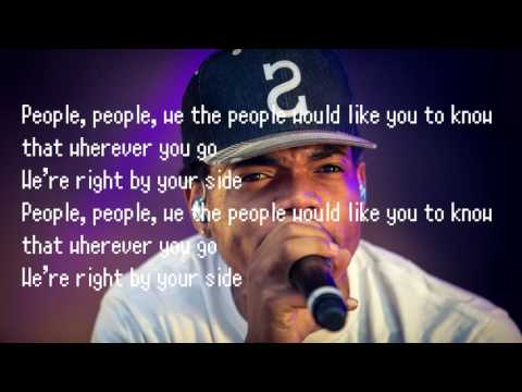 Chance the Rapper - We The People (Nike Ad) Lyrics