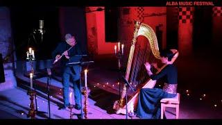 Concerto di Natale - Suoni d'inverno 2020/2021 - Giuseppe Nova flauto, Elena Piva arpa