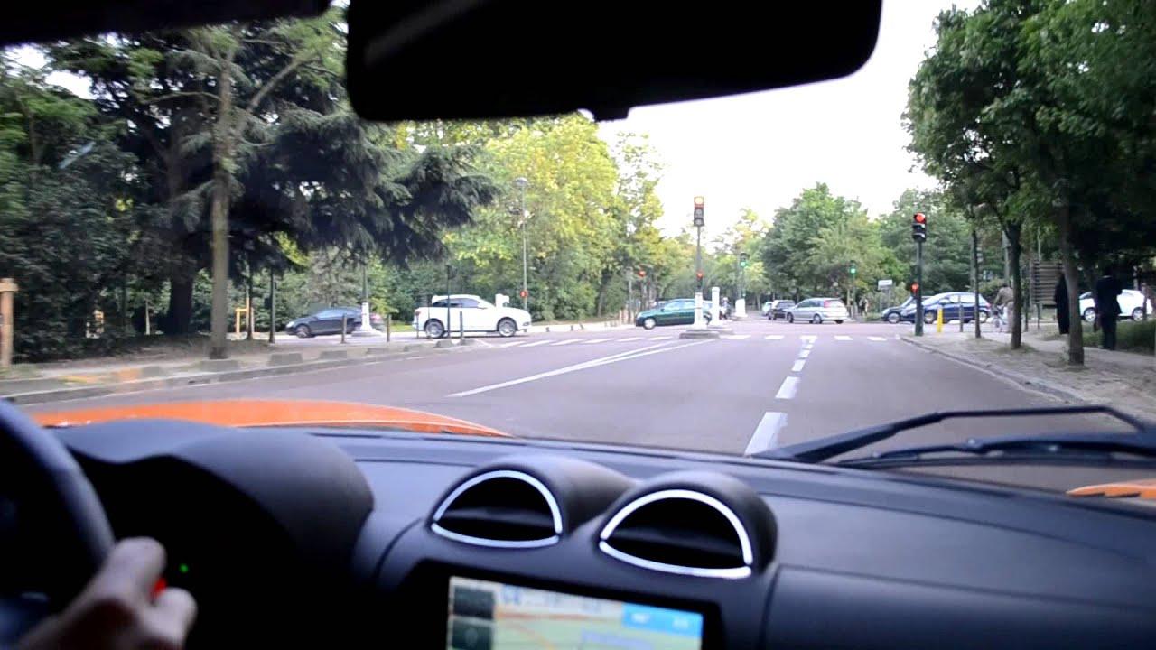 tesla roadster s loud acceleration in paris on board youtube. Black Bedroom Furniture Sets. Home Design Ideas