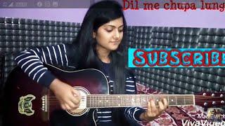Aise Na Mujhe Tum dekho | Dil Me Chupa Lunga | Wajah tum ho | Armaan Malik | Cover | Guitar Chords