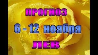 Таро прогноз на неделю с 6  по 12 ноября  ЛЕВ. Таро гороскоп с 6 по 12 ноября для льва