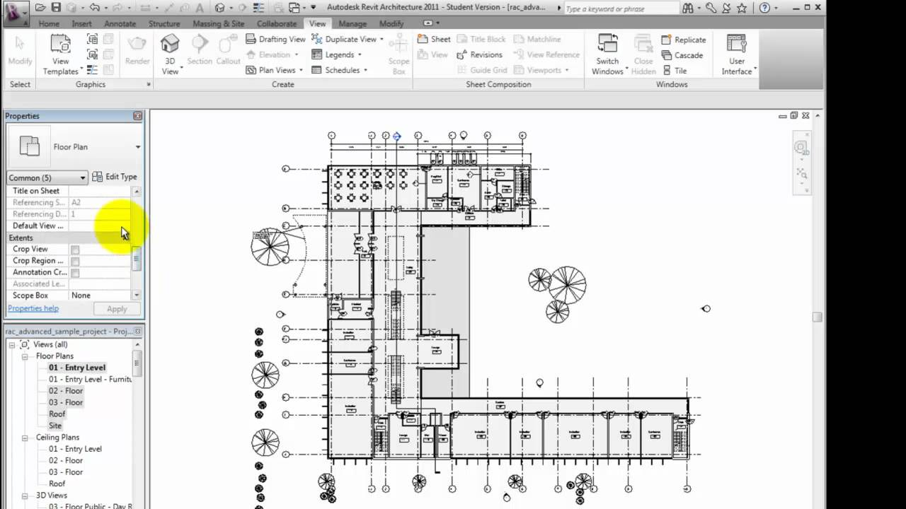 Revit Architecture 2011 Tutorial - Managing and Applying View ...