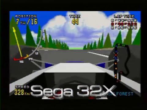 Virtua Racing Comparison (Genesis vs 32X vs Saturn vs PS2)