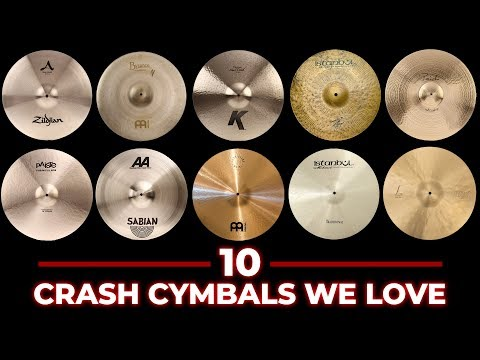 10 Crash Cymbals Compared - Which is Best For You? mp3