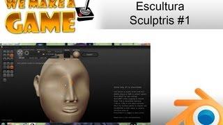 Esculturas em 3D - Sculptris #1