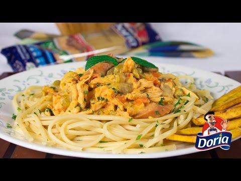 spaghetti doria especial