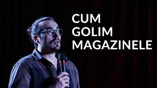 Mincu   CUM GOLIM MAGAZINELE   Stand up comedy