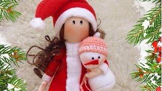 """Приглашение на мастер-класс по созданию куклы """"Санта"""""""