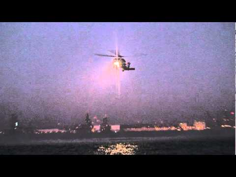 UNITED STATES NAVY SH-60 SEAHAWK (Seach and Rescue Swimmer Training)