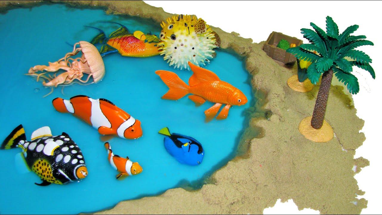 Sea Creature Toys : Sea animals safari incredible creatures marine animal