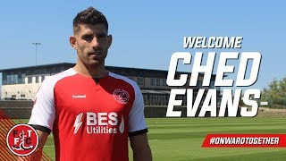Ched Evans joins the Cod Army on Loan | First Interview