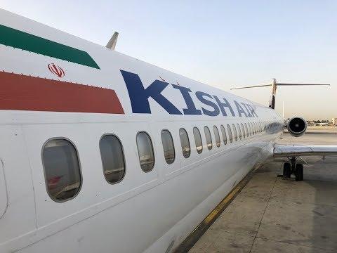 Kish Air MD-83 takeoff approach @ flight Y97169 THR-MHD