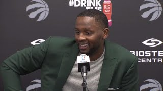 Miles ready to bring selflessness and leadership to Raptors