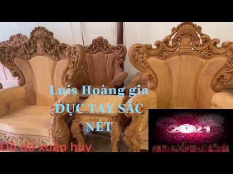 🔴 ĐỤC TAY luis hoàng gia MẪU ĐẸP đồ gỗ mỹ nghệ đồng kỵ|woodworking art|wood