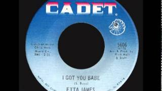 Etta James - I Got You Babe - Cadet - 1968