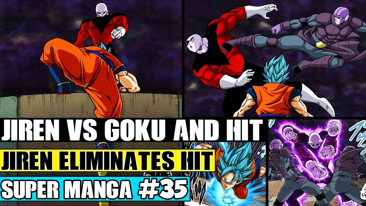 Goku Teams With Hit Hit And Goku Vs Jiren Dragon Ball Super Manga Chapter 35 Review