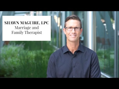 Marriage and Family Therapist Oklahoma City - Shawn Maguire