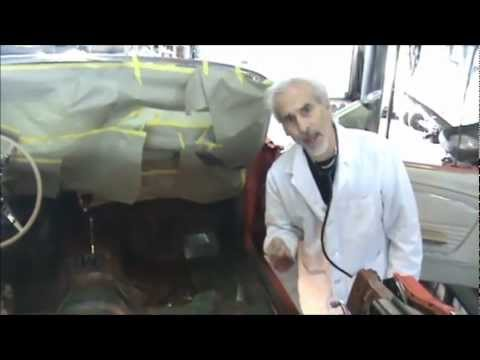 Rust In The Frame Rails Of A Mustang How To Fix Rust In