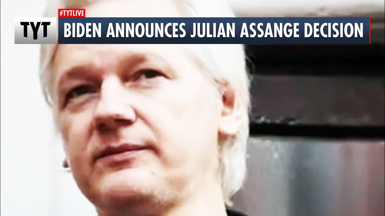 Biden Announces Julian Assange Extradition Decision