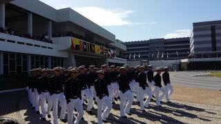 Desfile Abertura da cerimônia da entrega dos espadins EN 2017