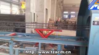 steel wire cage welding machine for concrete pole and pile