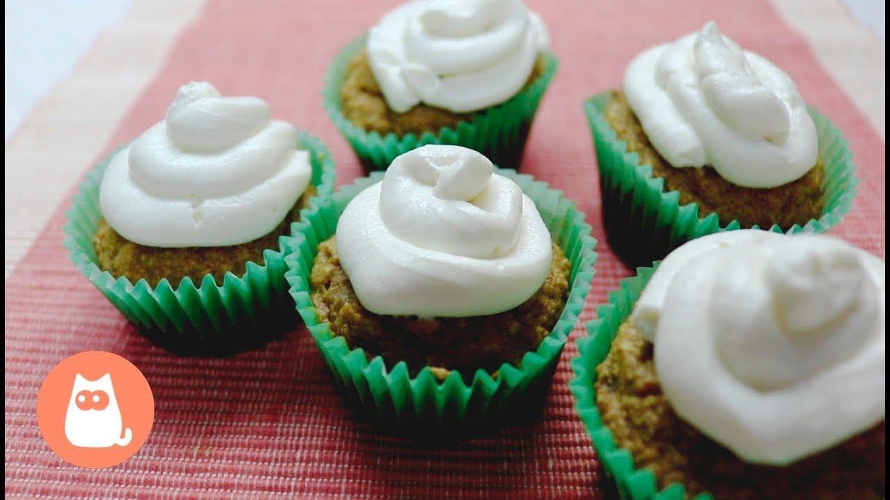 Receitas para cachorros: cupcakes vegetarianos | SIMPLES!