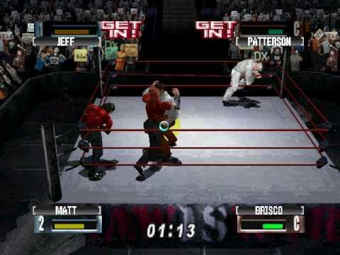WWF NoMercy Pc-Me(Matt Hardy) & Light(Jeff Hardy) Vs Pat Patterson(Cpu) & Brisco(Cpu) Part 1