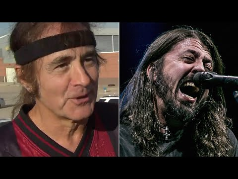 Steve Harris Played Soccer With Foo Fighters + Other Famous Rockers