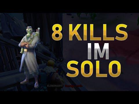 8 KILL SOLO SIEG | Fortnite Battle Royale