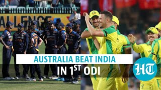 Aaron Finch & Steve Smith star as Australia beat India by 66 runs in 1st ODI