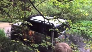 УАЗ ПАТРИОТ 777 на мостах БТР и колесах МТЗ