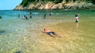 Playa angosta acapulco 2013