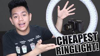 CHEAPEST LED RINGLIGHT  UNBOXING + DEMO (Philippines) || Jayce Mars
