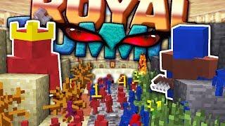 GUERRA TRA ESERCITI DI CLAY SOLDIERS - Minecraft ITA - ROYAL RUMMOB