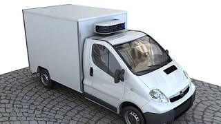 3D Model of Opel Vivaro Review