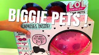 NIEUW! Een MEGA grote L.O.L. Surprise PETS vol verrassingen! WOW!