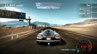 "NFS Hot Pursuit 2010 ""Seacrest Tour"" World Record 