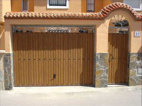 Metalicas tellez puertas de youtube for Puertas metalicas