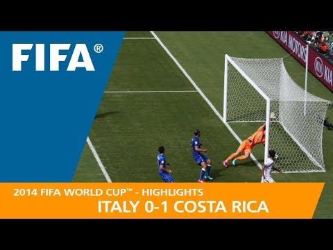 ITALY v COSTA RICA (0:1) - 2014 FIFA World Cup™