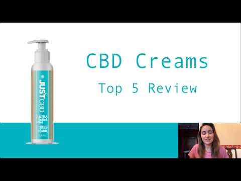 Best 5 CBD Creams Eliminate Pain With The Top 5 CBD Creams NOW!
