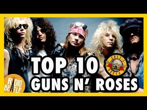 TOP 10 Canciones de GUNS N' ROSES | Radio-Beatle
